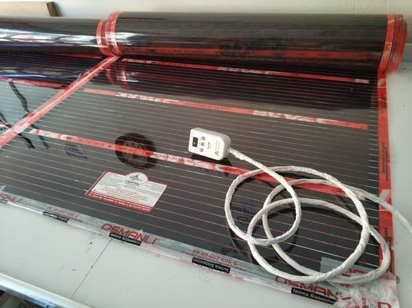 Termostatlı Rexva PTC 6 Metre Kare Halı IsıtmaTermostatlı Rexva PTC 6 Metre Kare Halı Isıtma