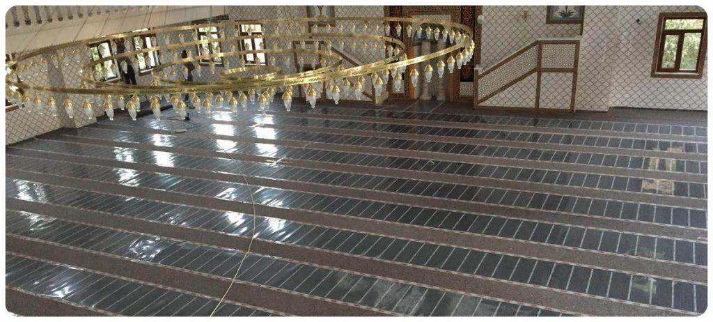cami ısıtma sistemleri